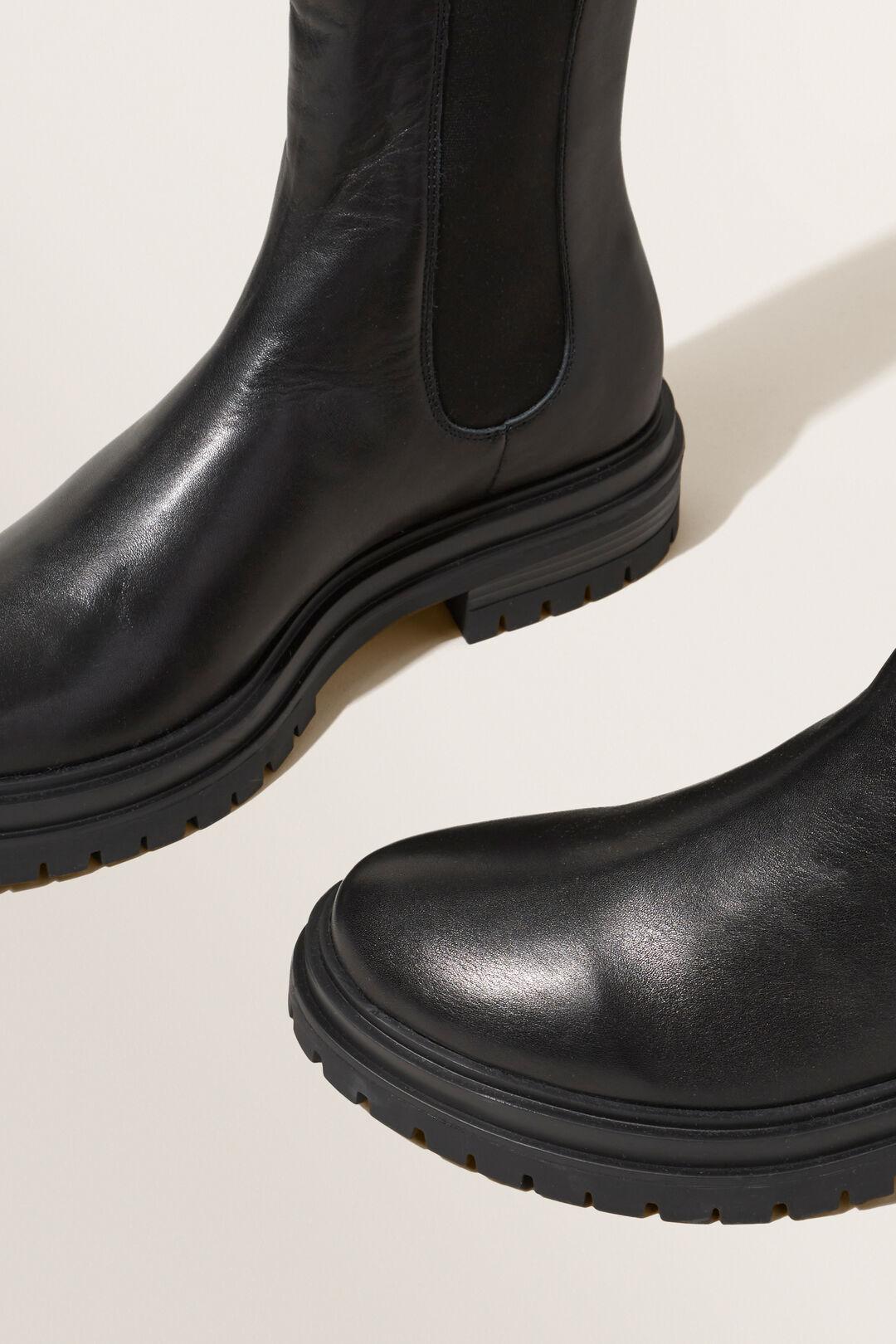 Katie Gusset Boot  Black  hi-res