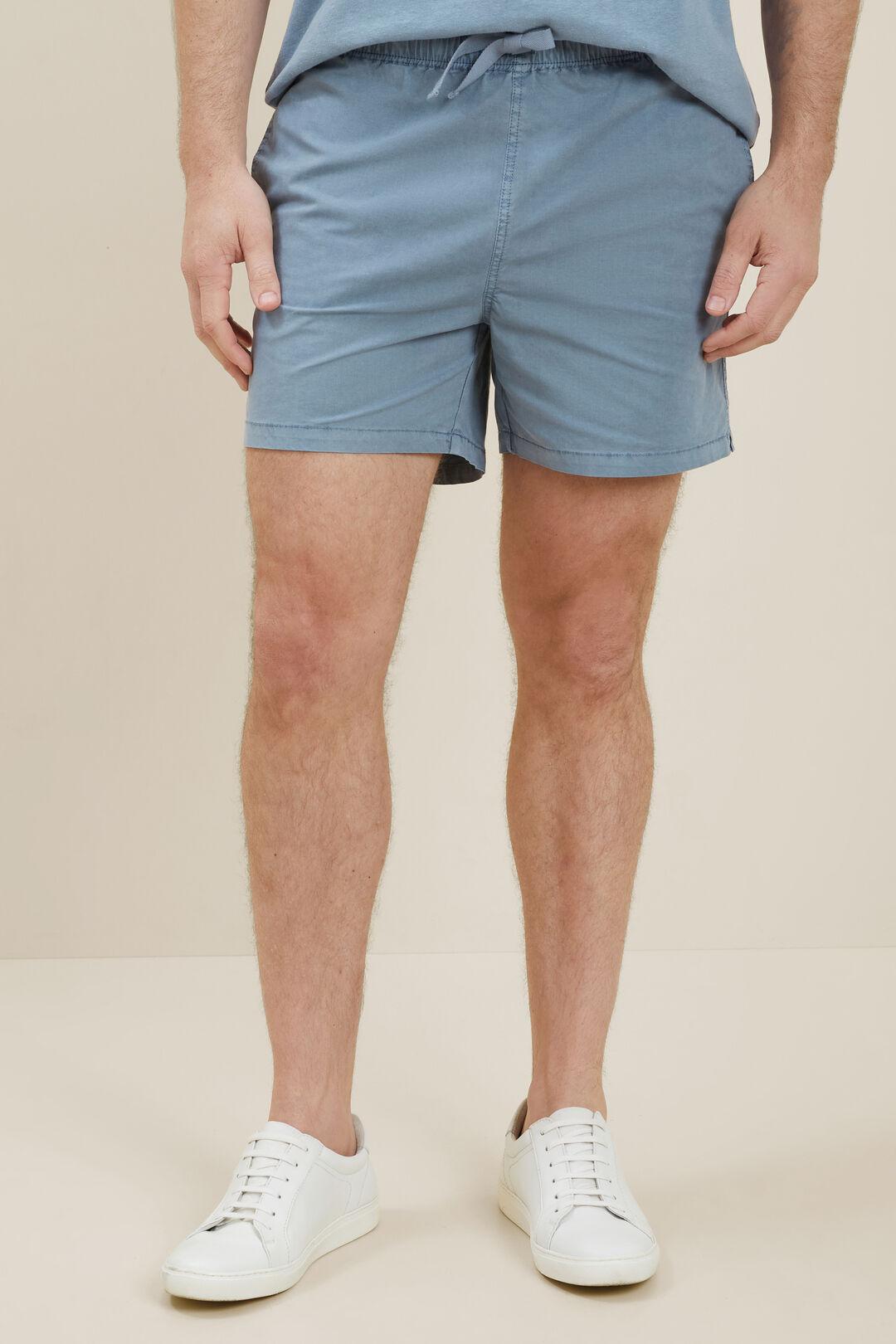 Mens Beach Shorts  Steel Blue  hi-res