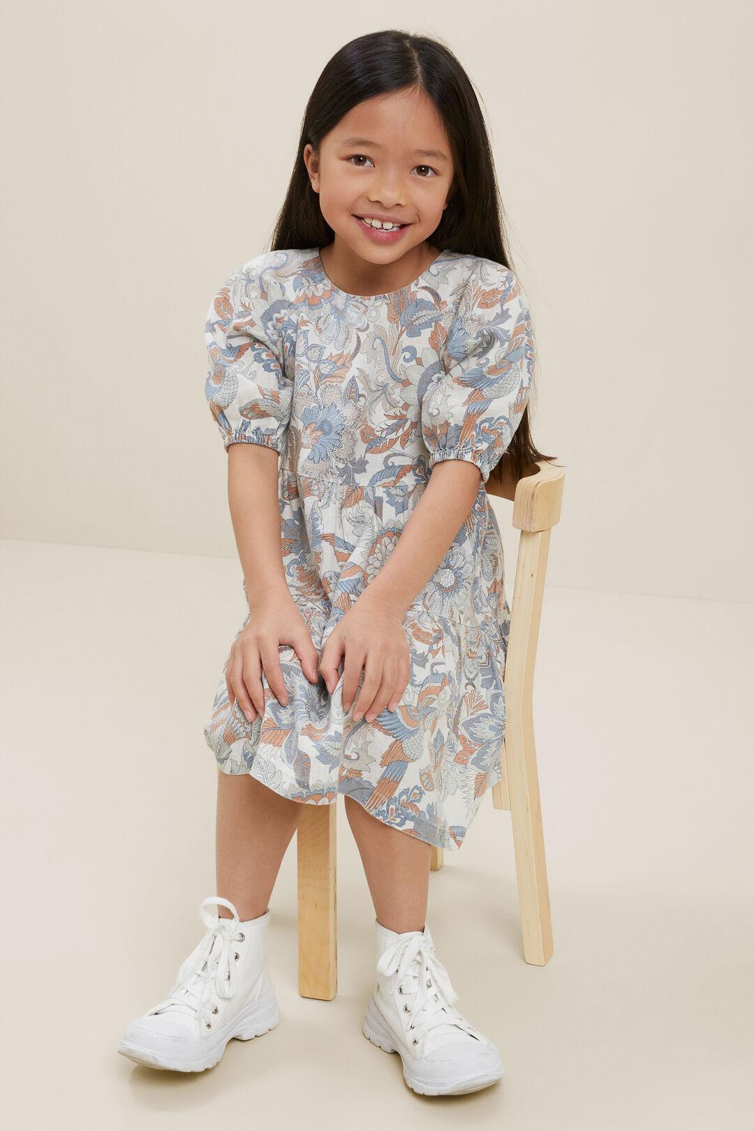 Linen Dress  Multi  hi-res