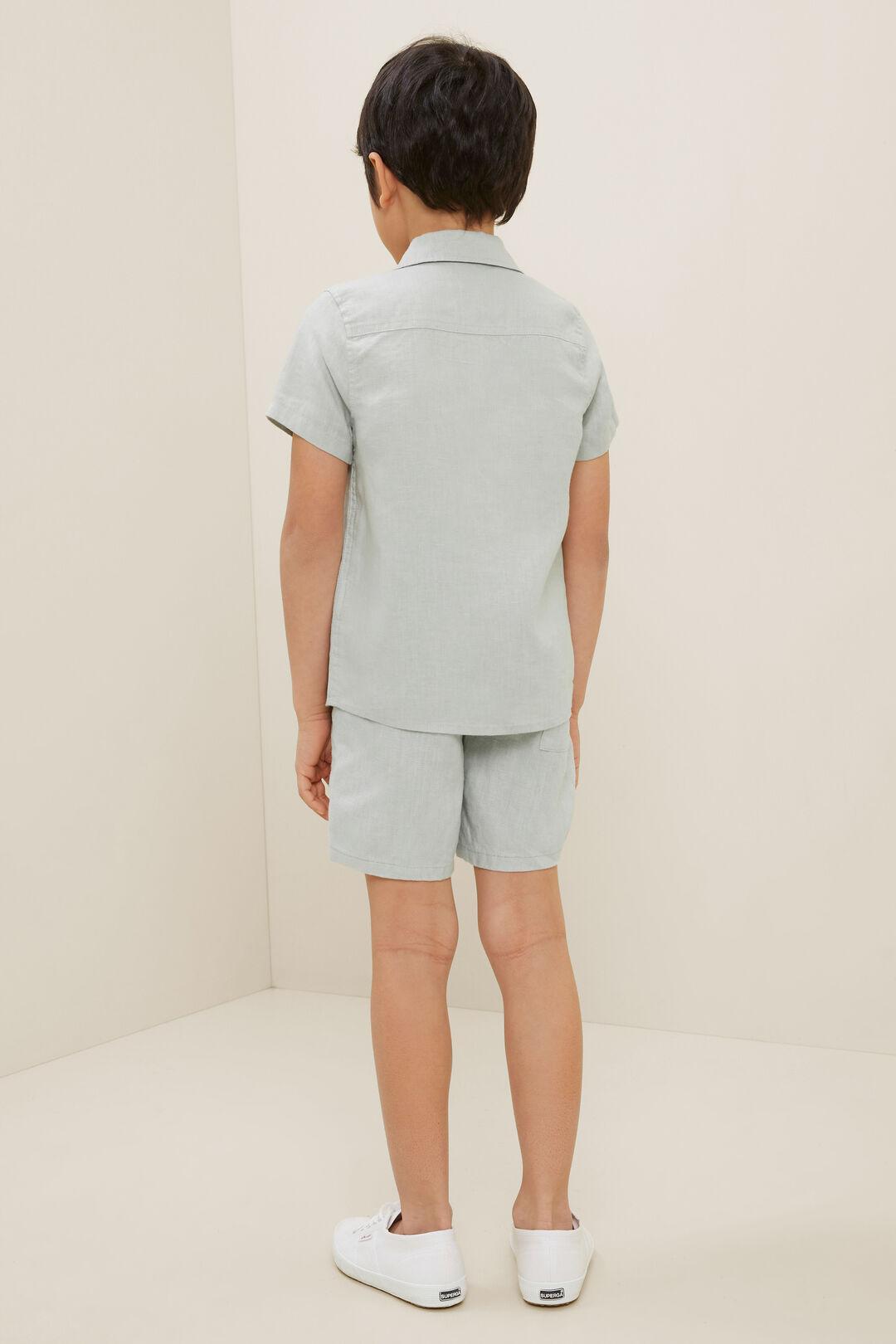 Linen Shirt  Mint  hi-res