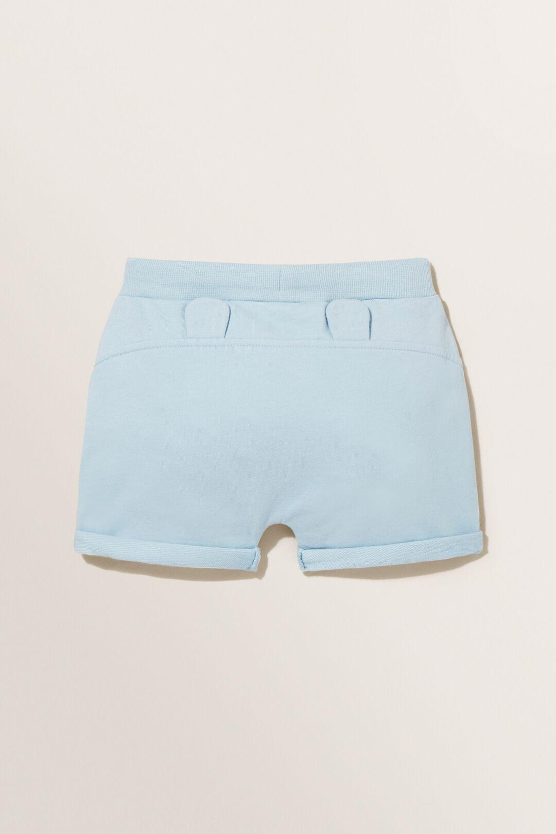 Basic Track Shorts  Pale Blue  hi-res