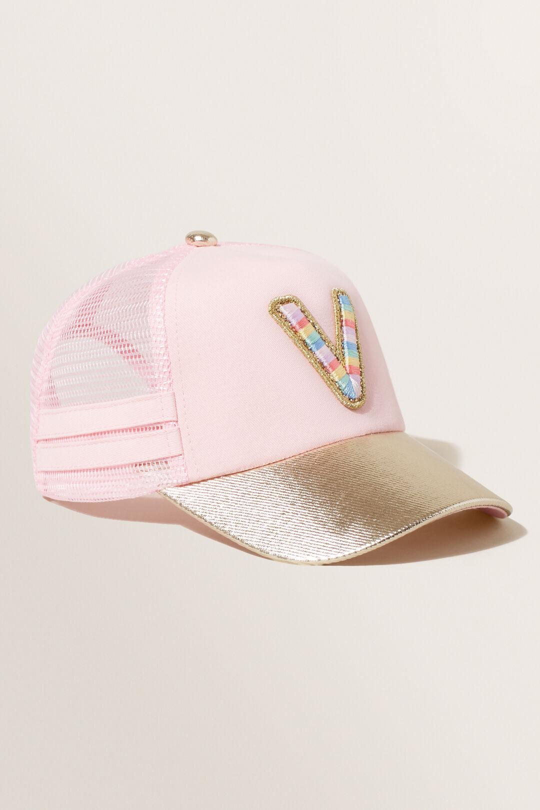 Rainbow Initial Cap  V  hi-res