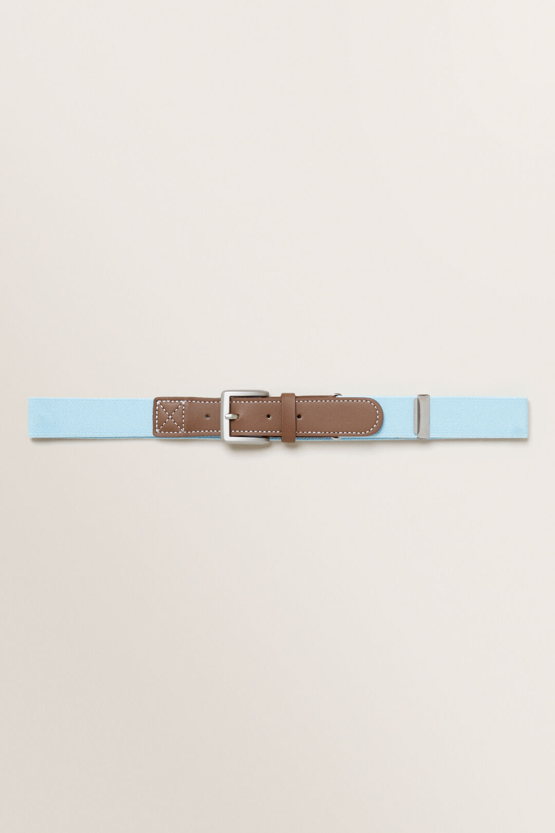 Elastic Belt  Light Blue  hi-res