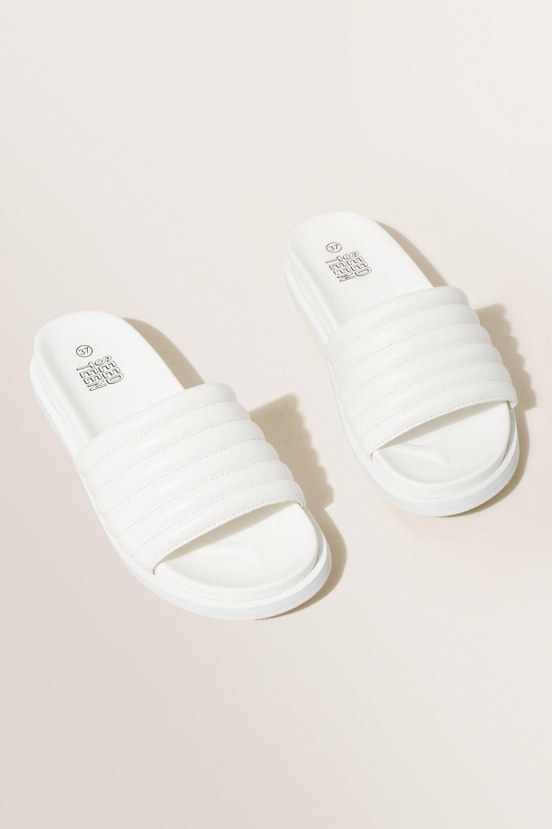 Puffy Slide  White  hi-res