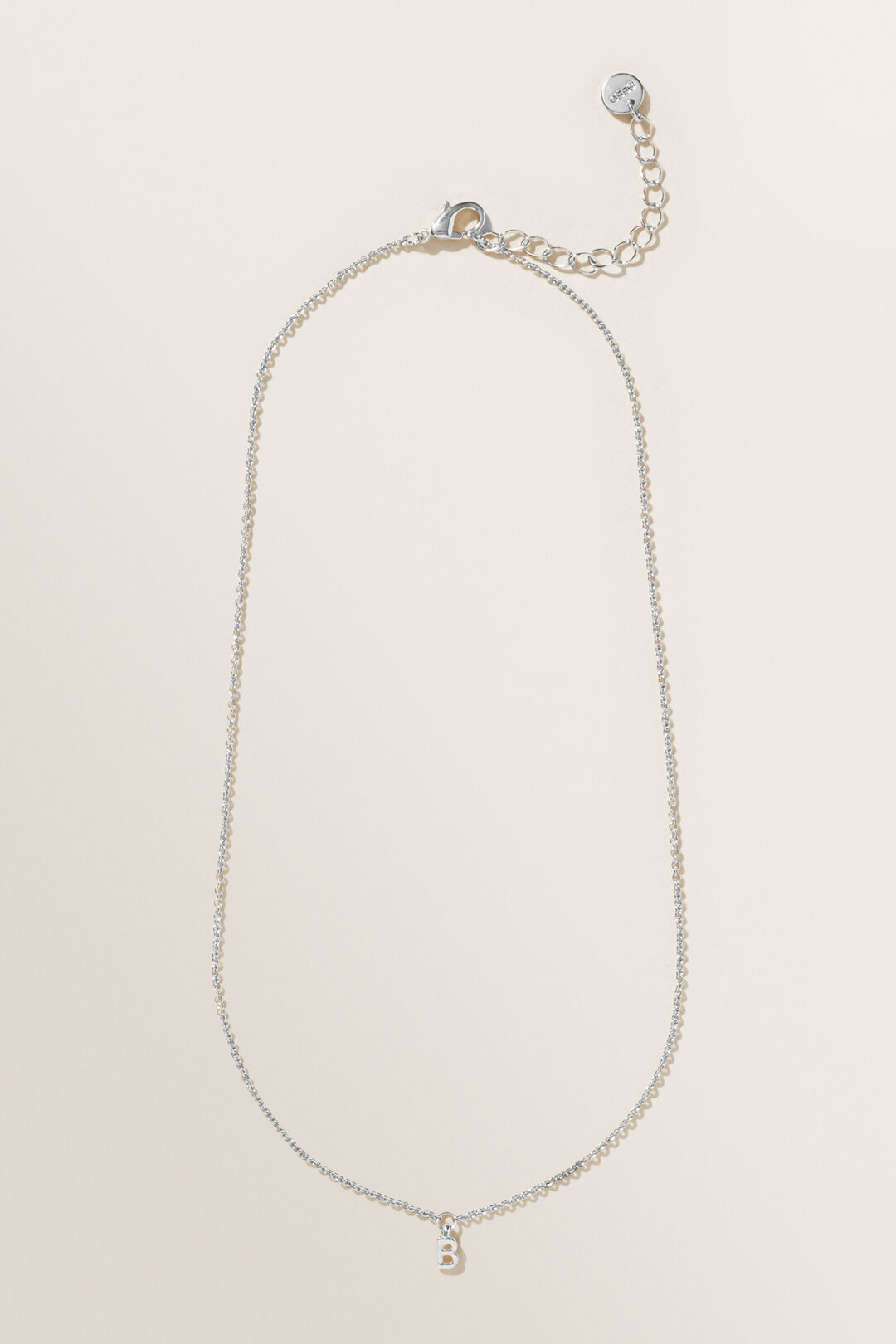 Initial Necklace  B  hi-res