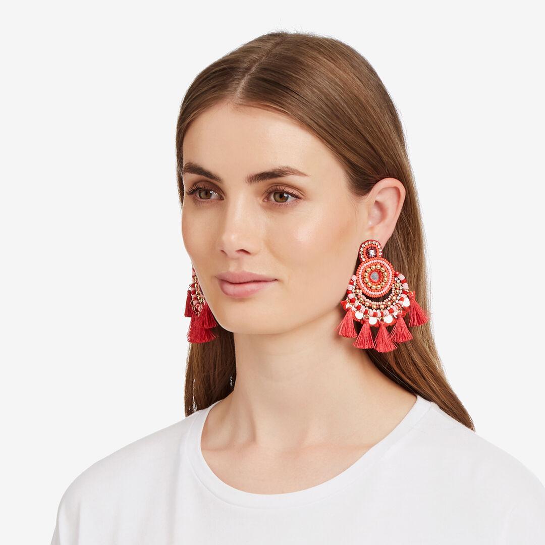 Fiesta Tassel Earrings    hi-res