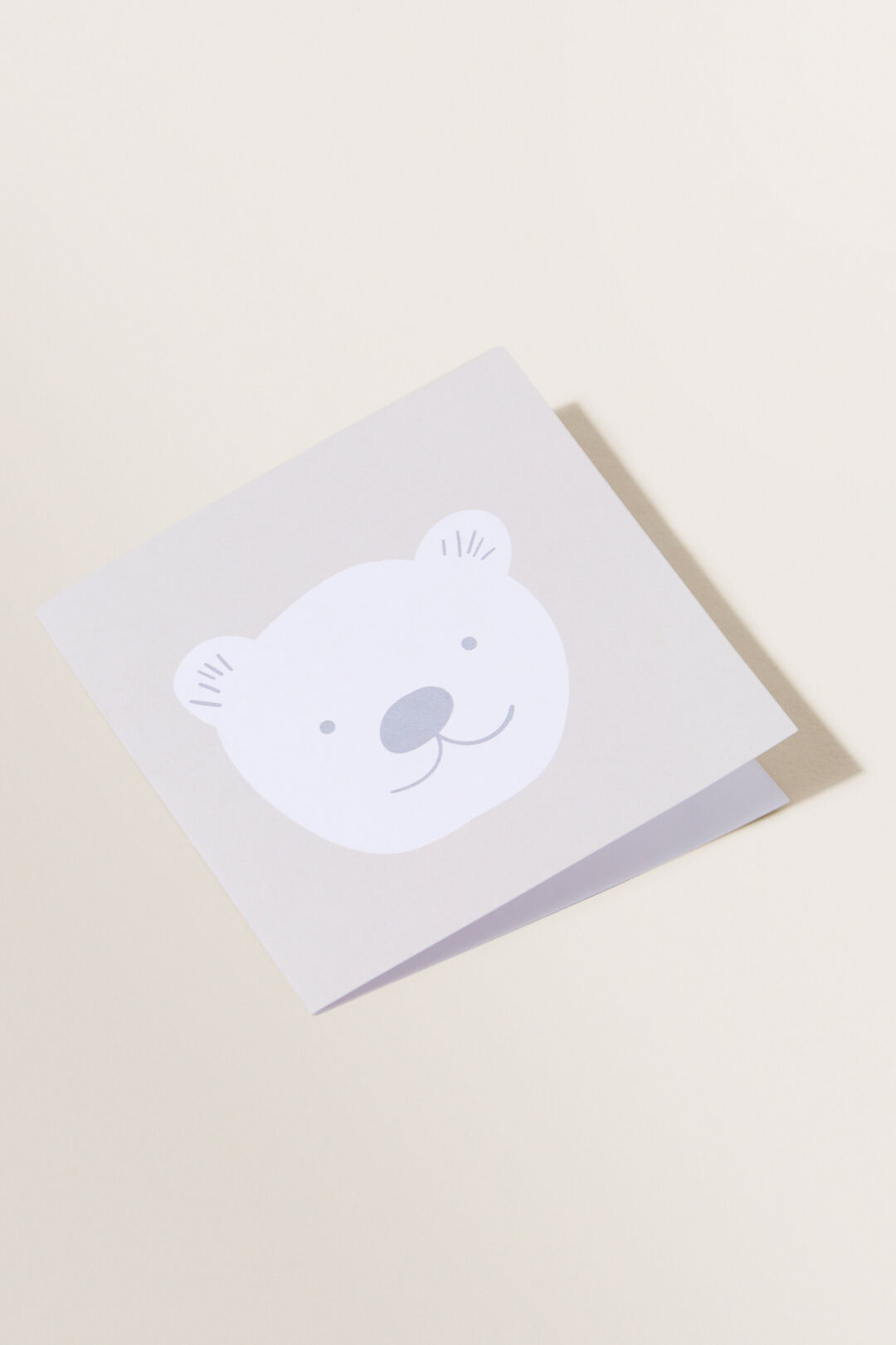 Small Bear Card  Multi  hi-res