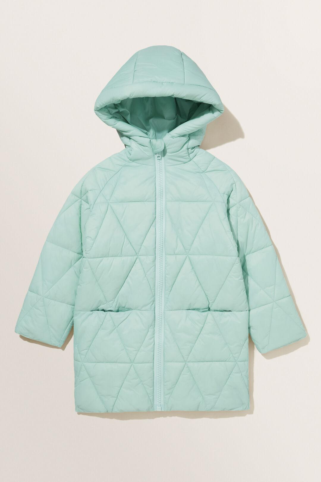 Puffer Coat  Mint  hi-res