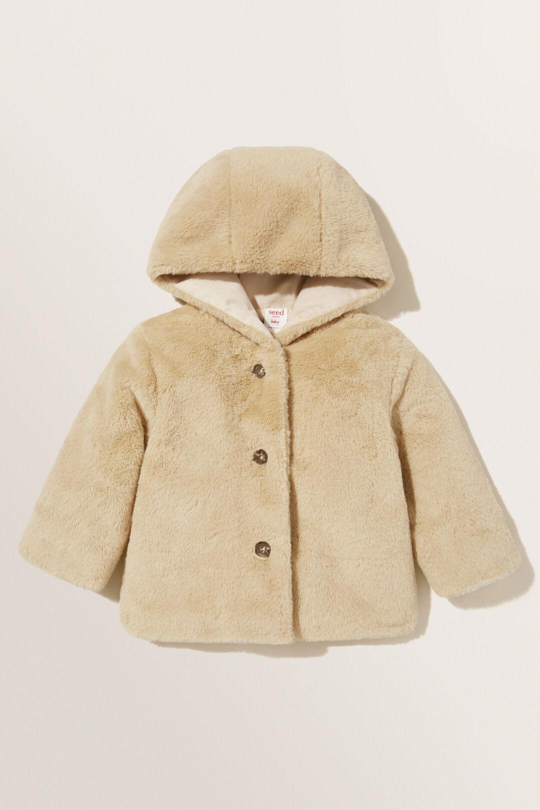Fur Jacket  Chai  hi-res