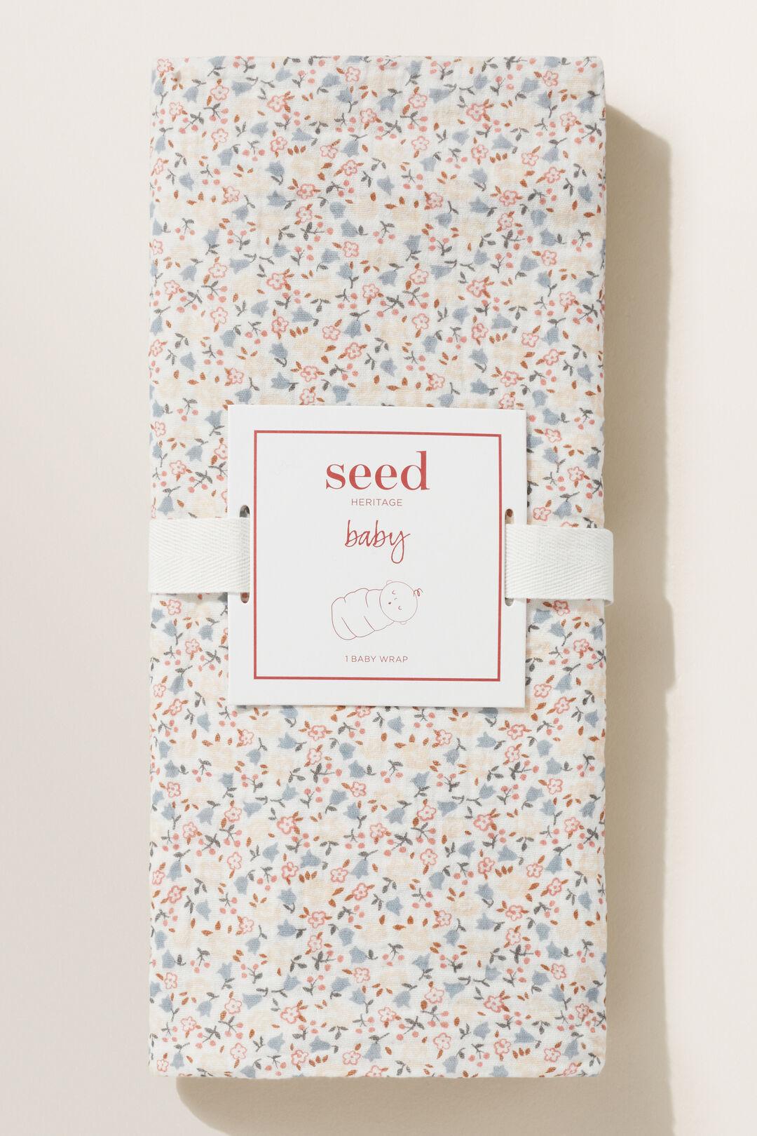 Floral Muslin Wrap  Canvas  hi-res