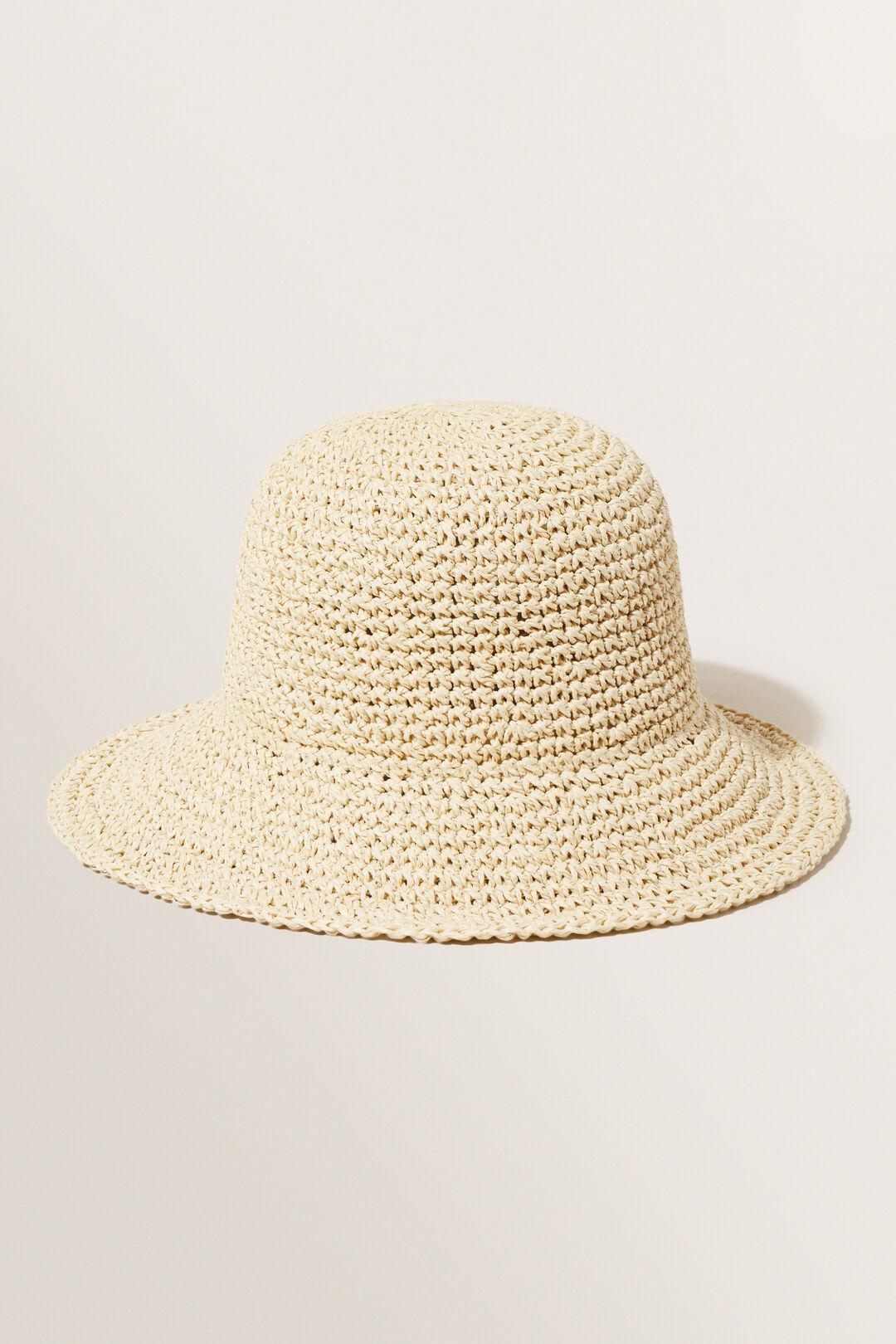 Ava Bucket Hat  Natural  hi-res
