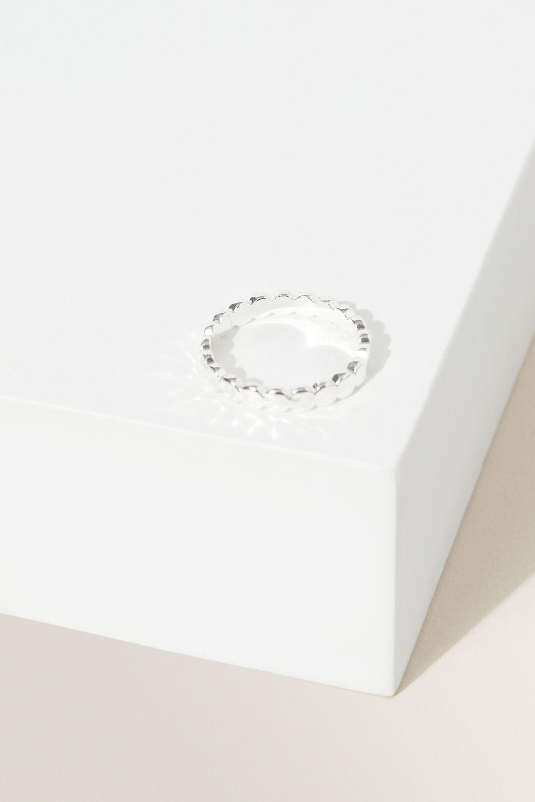 Fine Dot Ring  Silver  hi-res