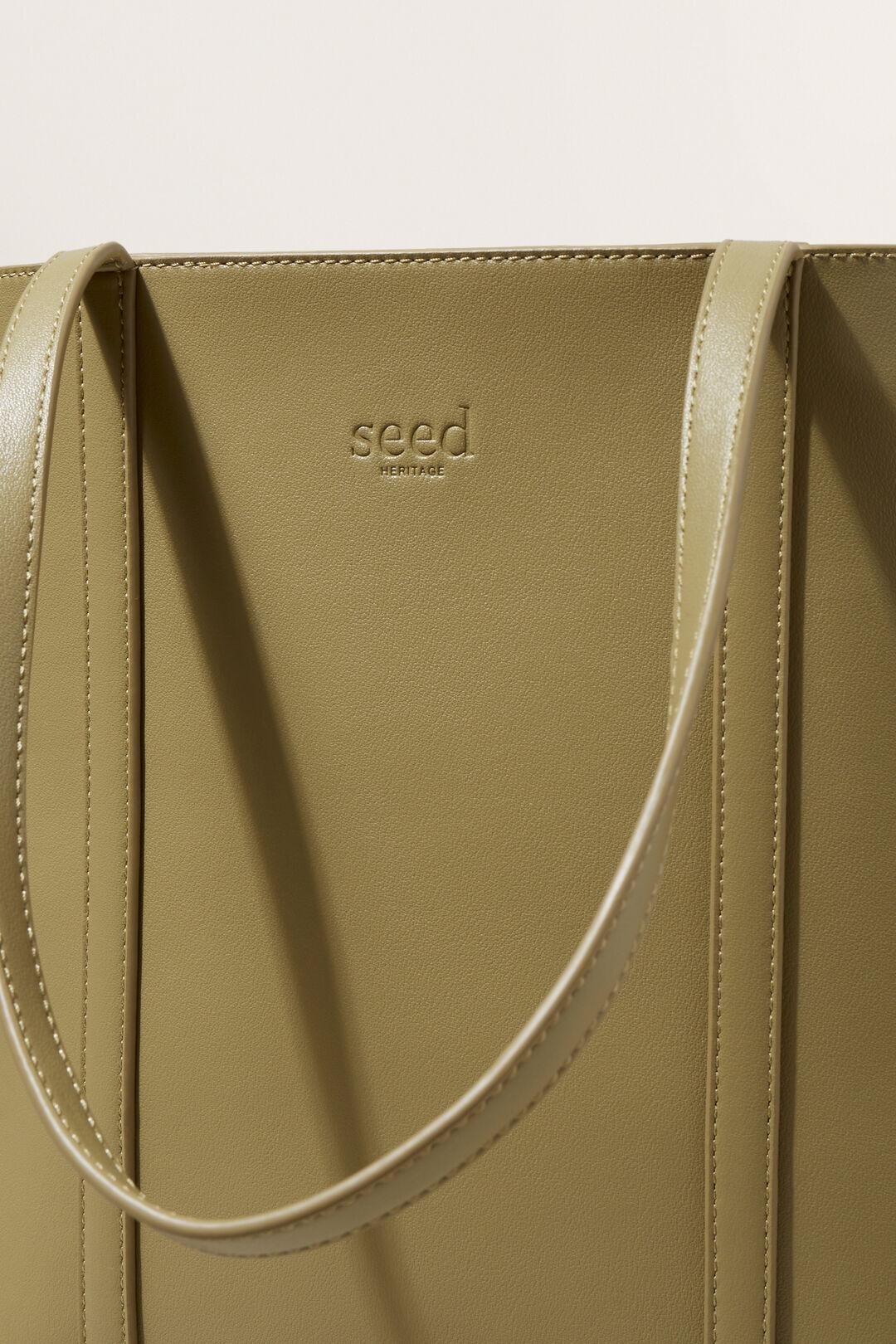 Seed Essential Tote  Sage Green  hi-res
