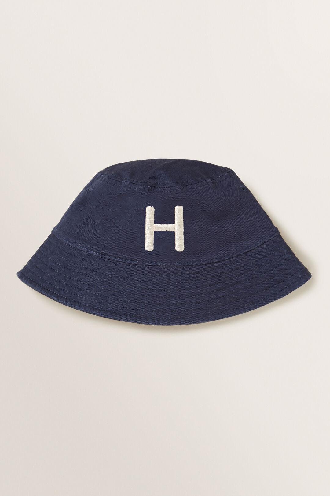 Initial Bucket Hat  H  hi-res