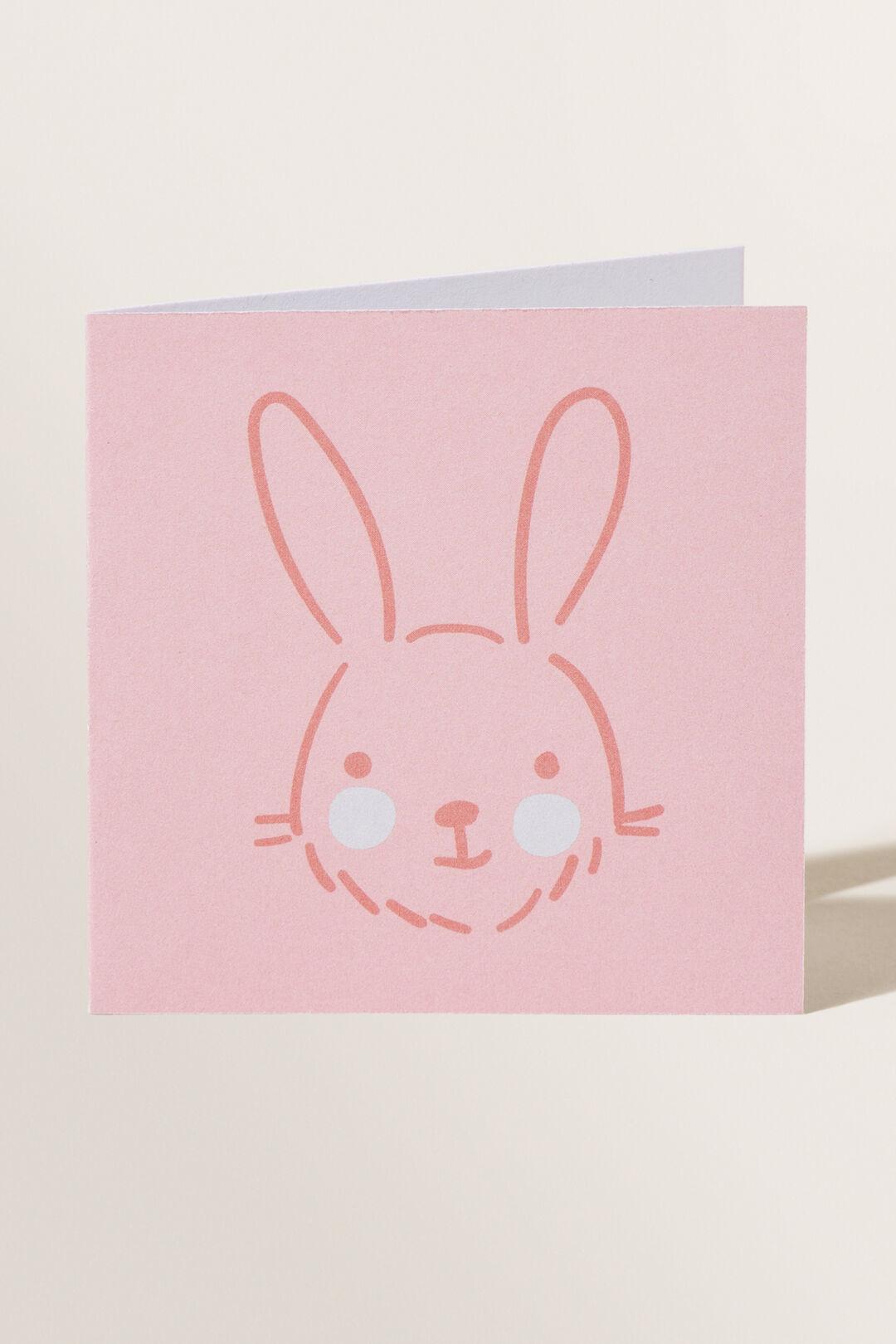 Small Rabbit Card  Multi  hi-res