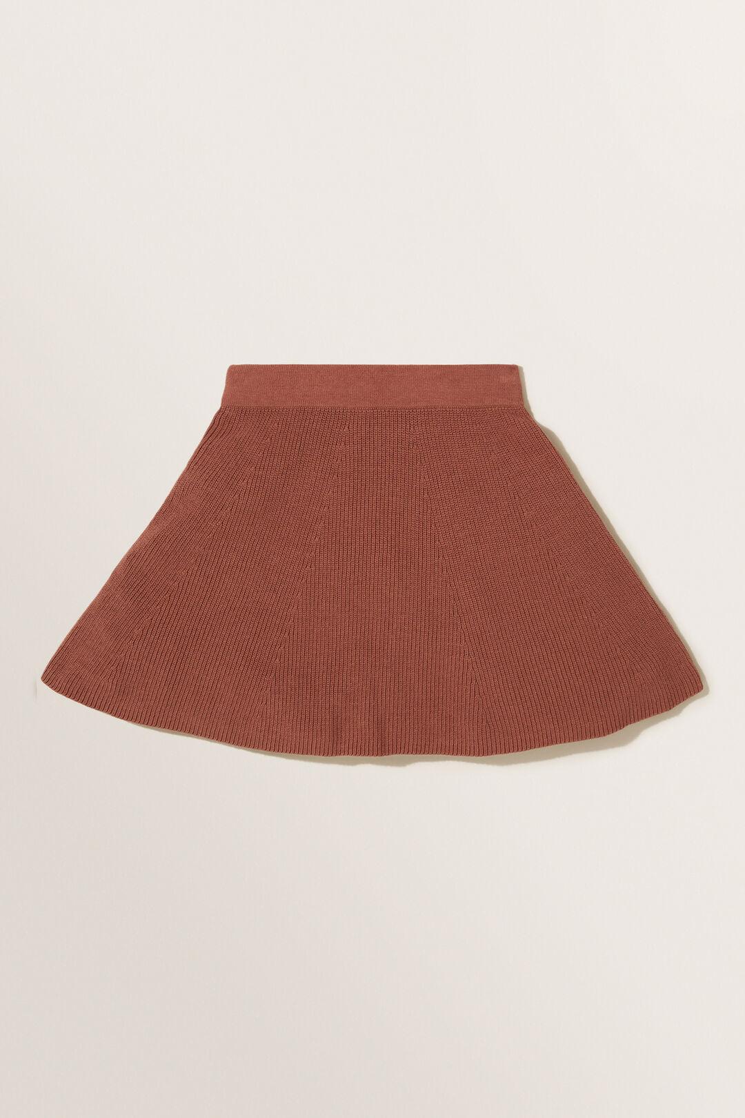 Knit Skirt  Cocoa  hi-res