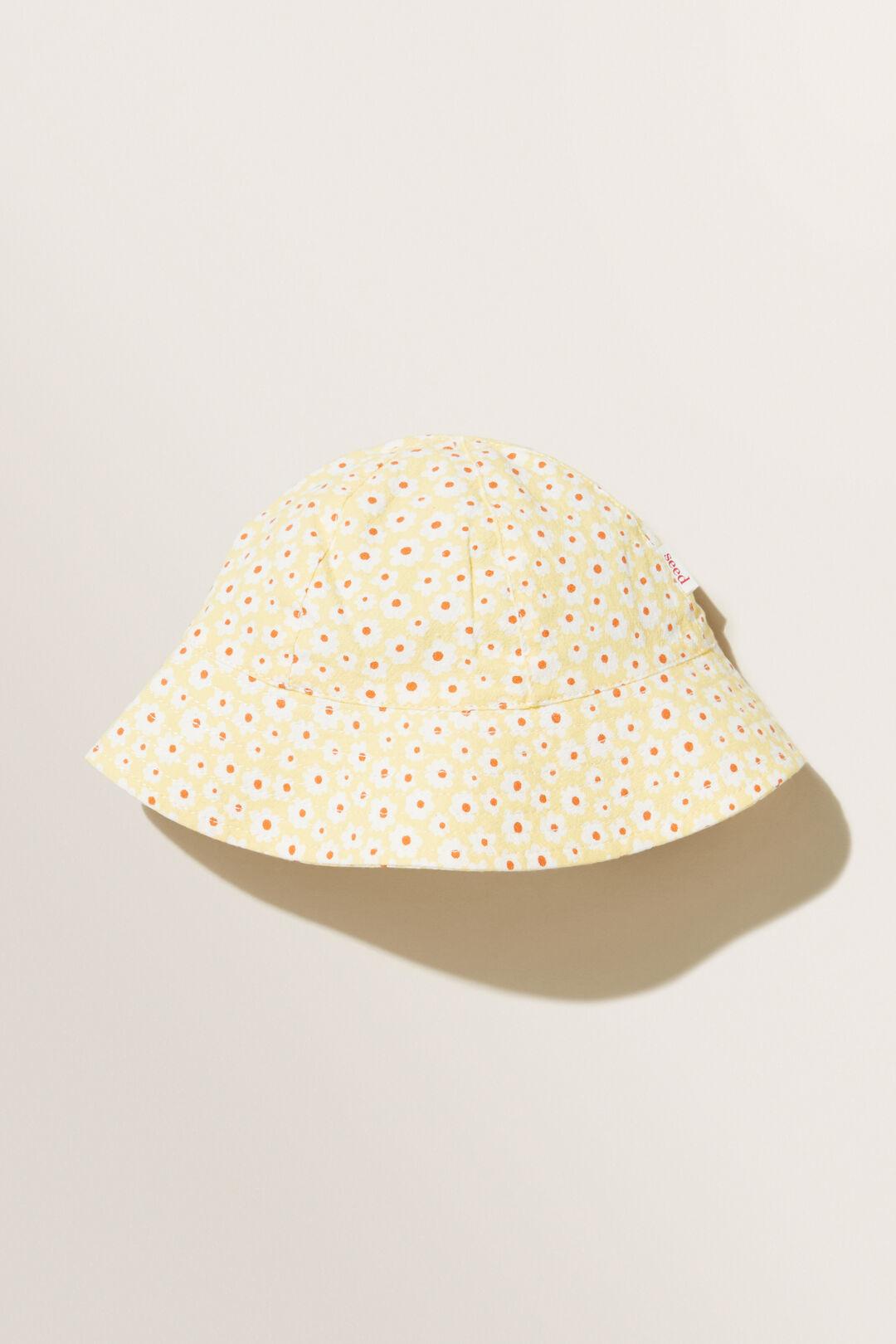 Floral Sun Hat  Multi  hi-res