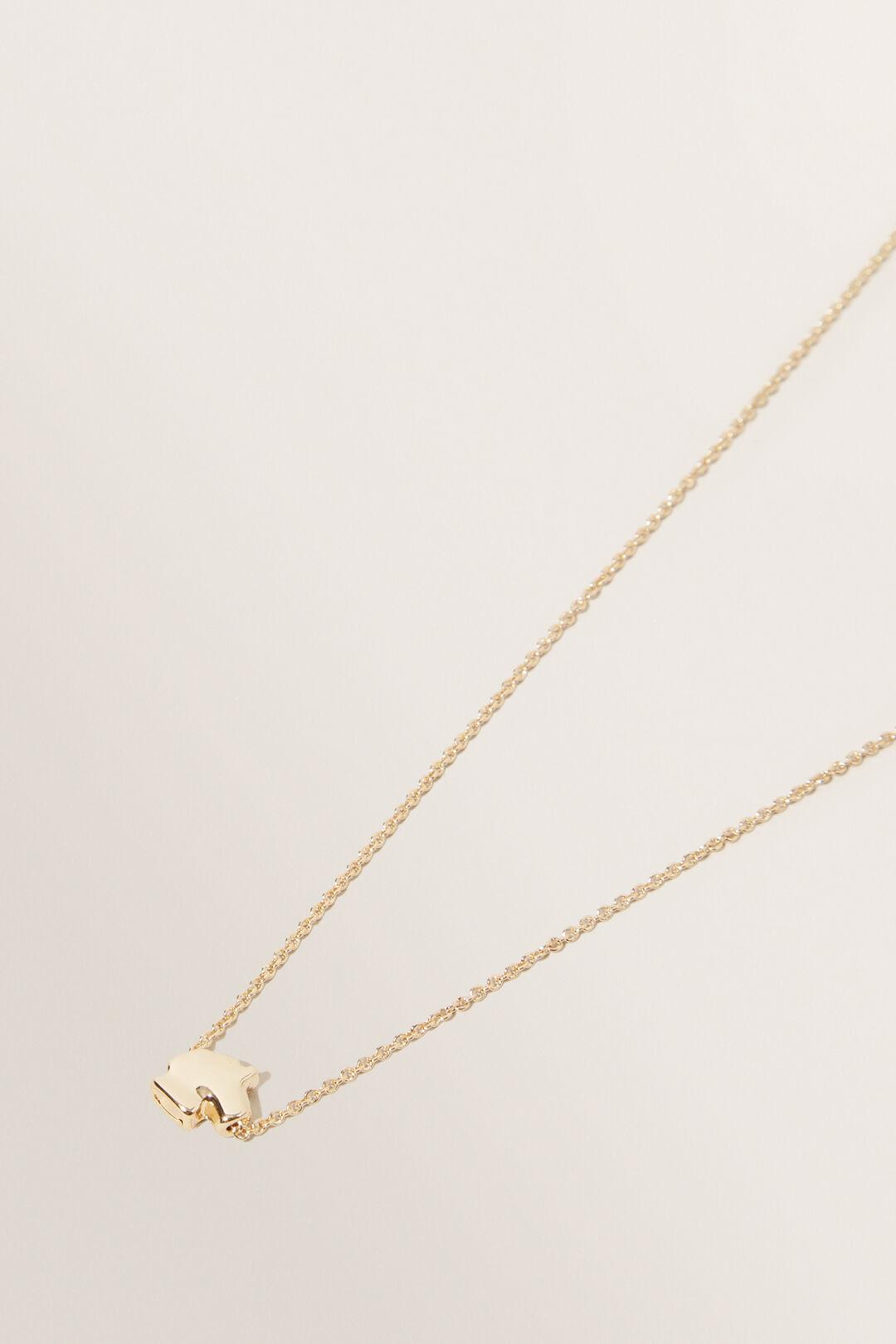 Unicorn Initial Necklace  Unicorn  hi-res