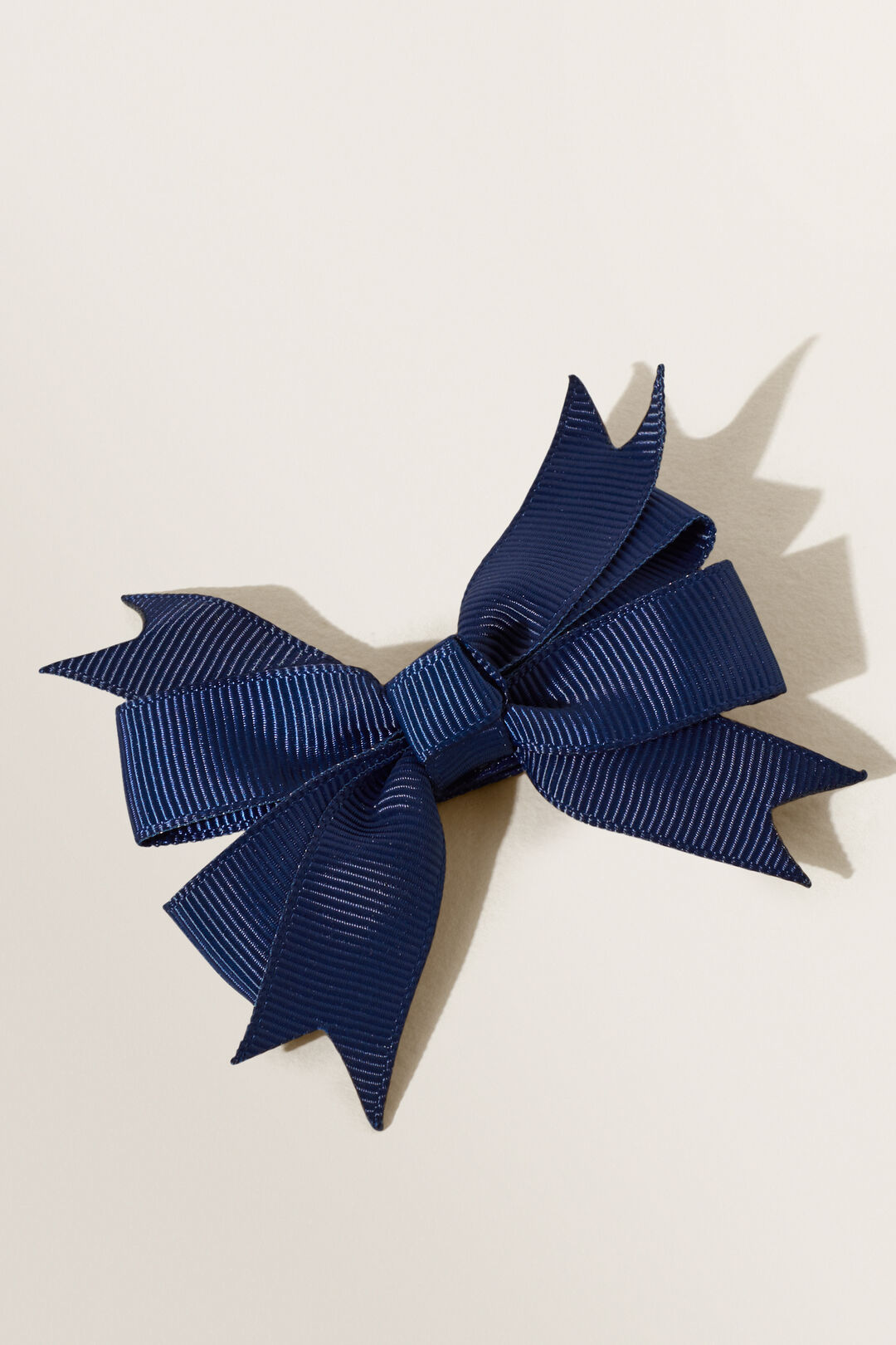 Extra Large Grosgrain Bow  Navy  hi-res