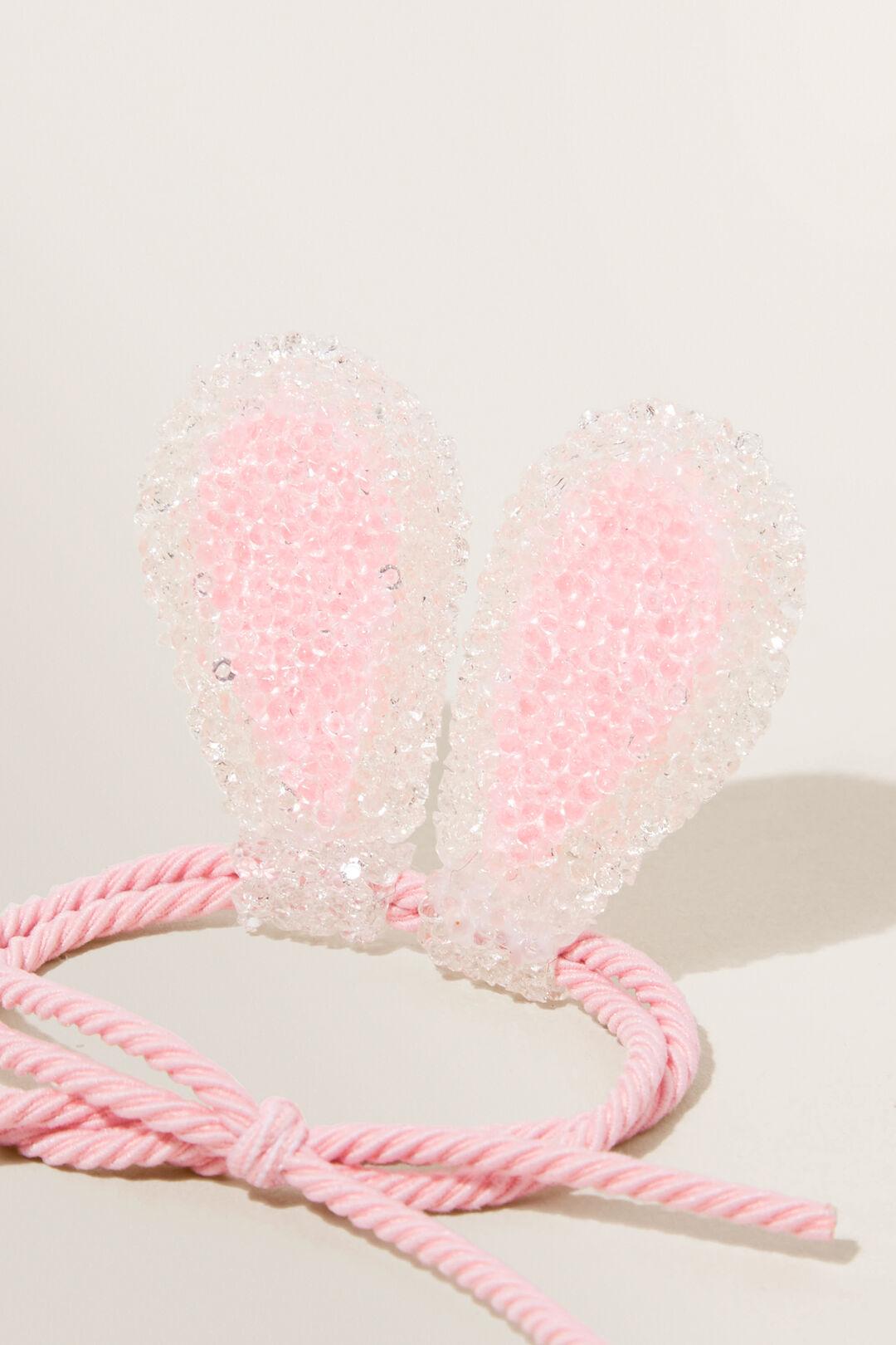 Glitter Bunny Ears On Elastic  Multi  hi-res
