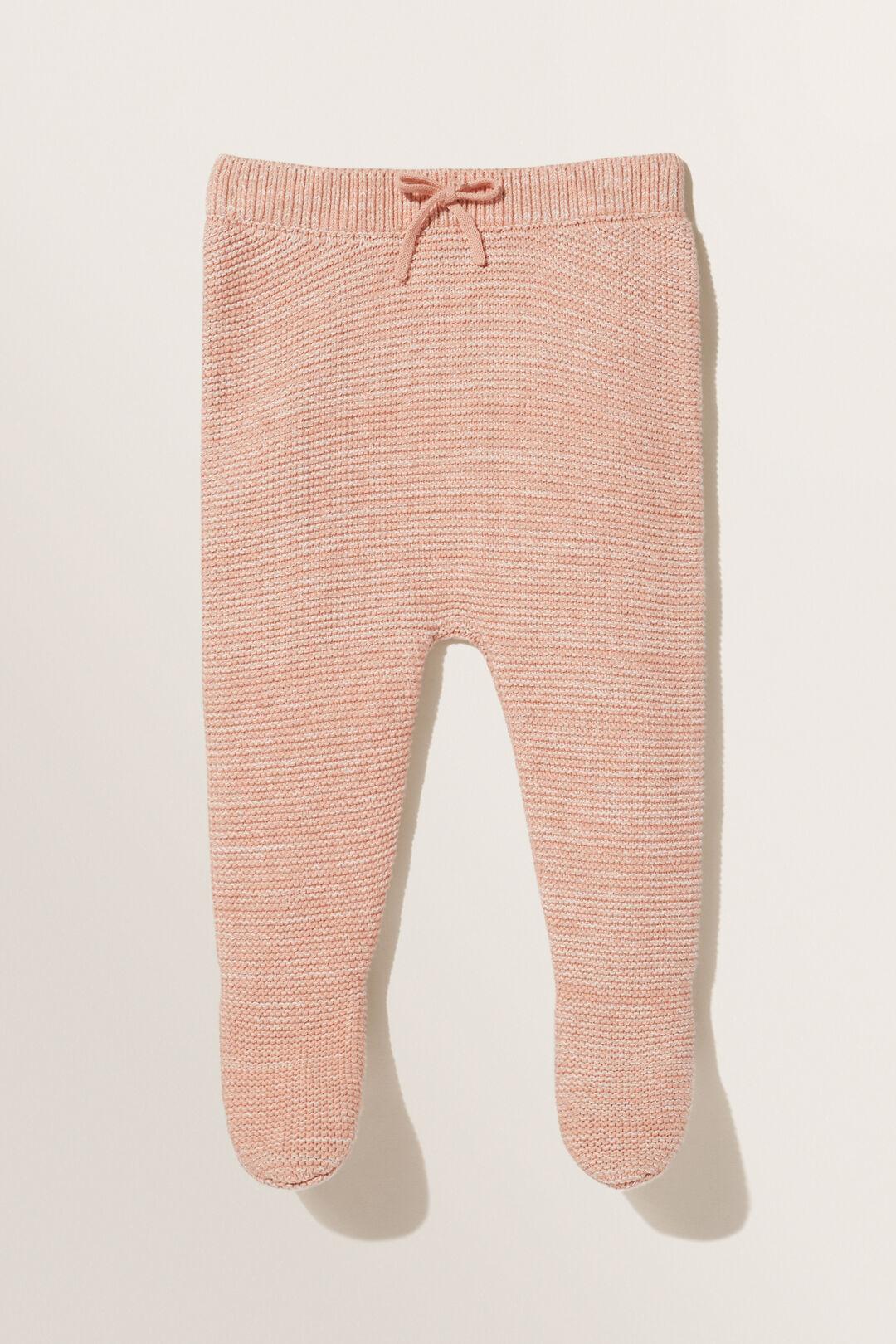 Footed Leggings  Pink Clay  hi-res