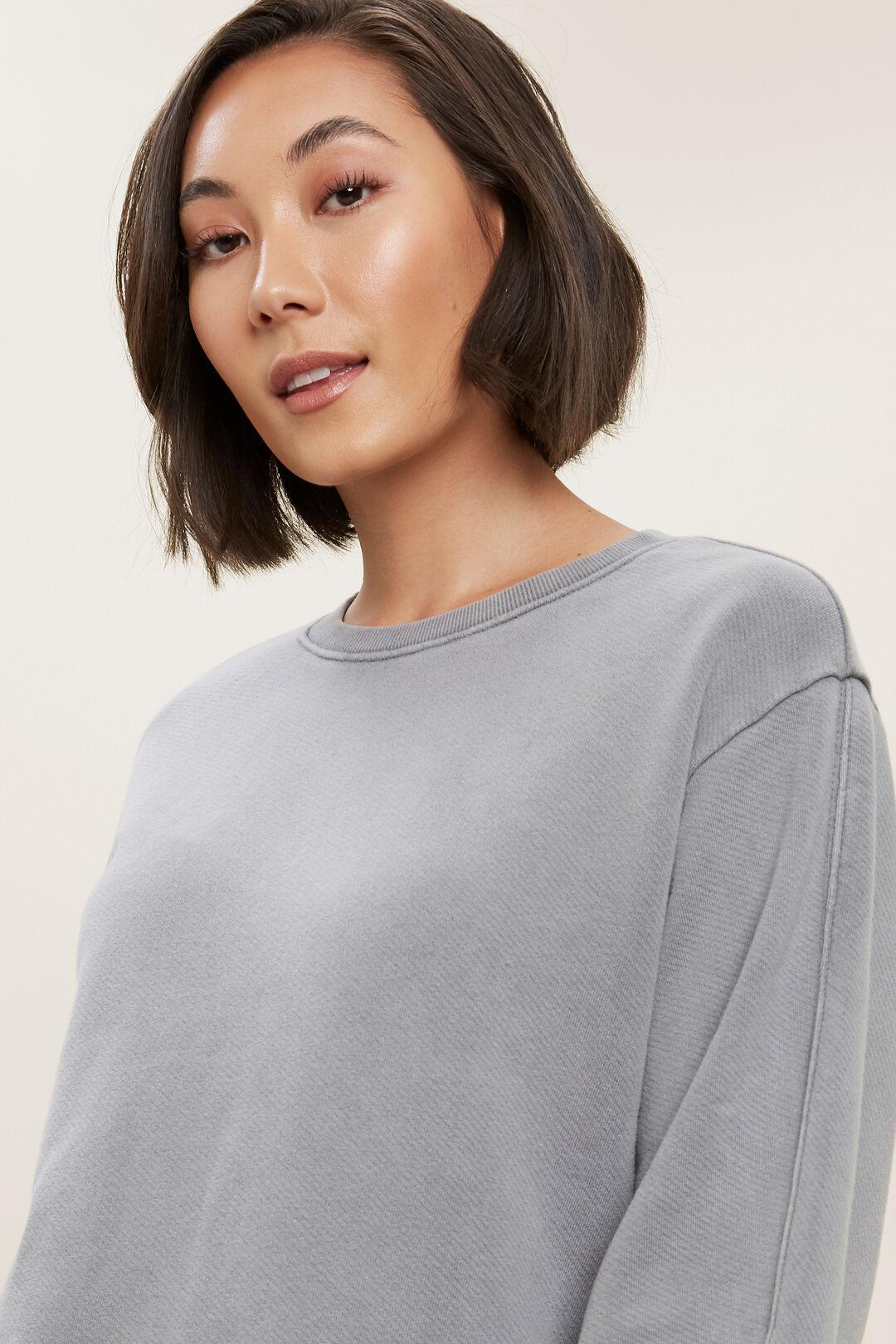 Vintage Wash Sweater  Dim Grey VintageWash  hi-res