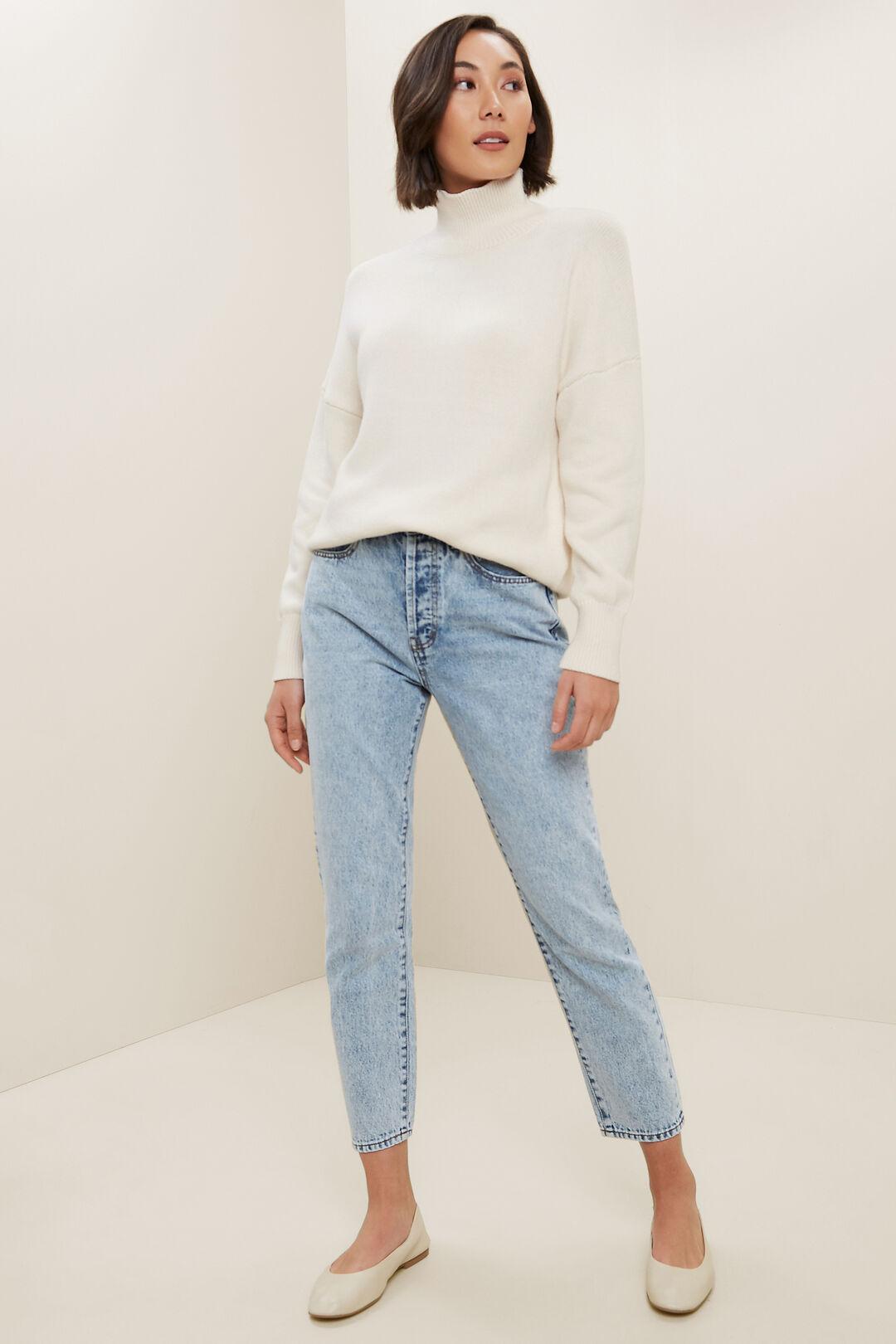 Turtleneck Sweater  French Vanilla  hi-res