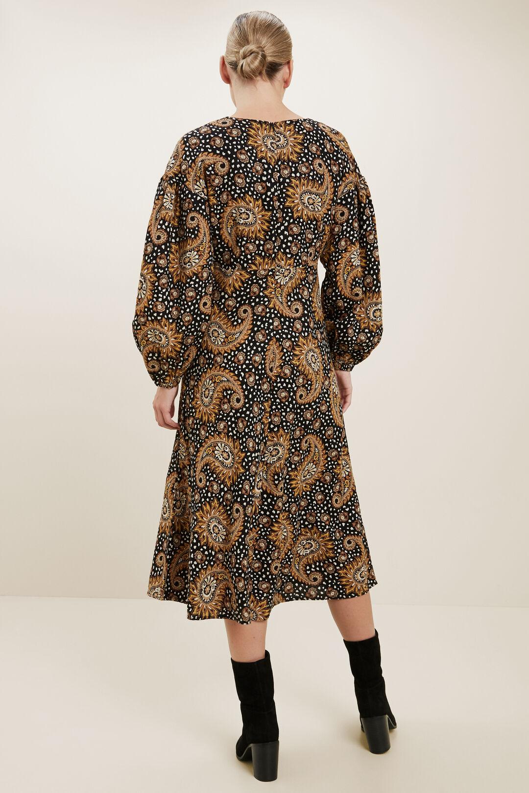 Paisley Midi Dress  Paisley  hi-res