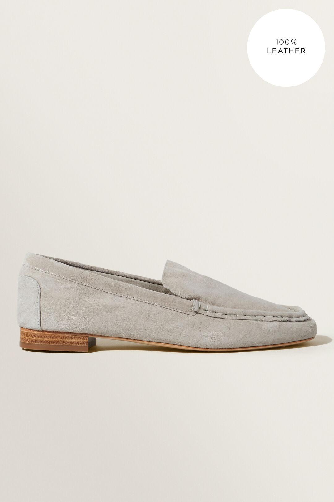 Suede Loafer  Light Grey  hi-res