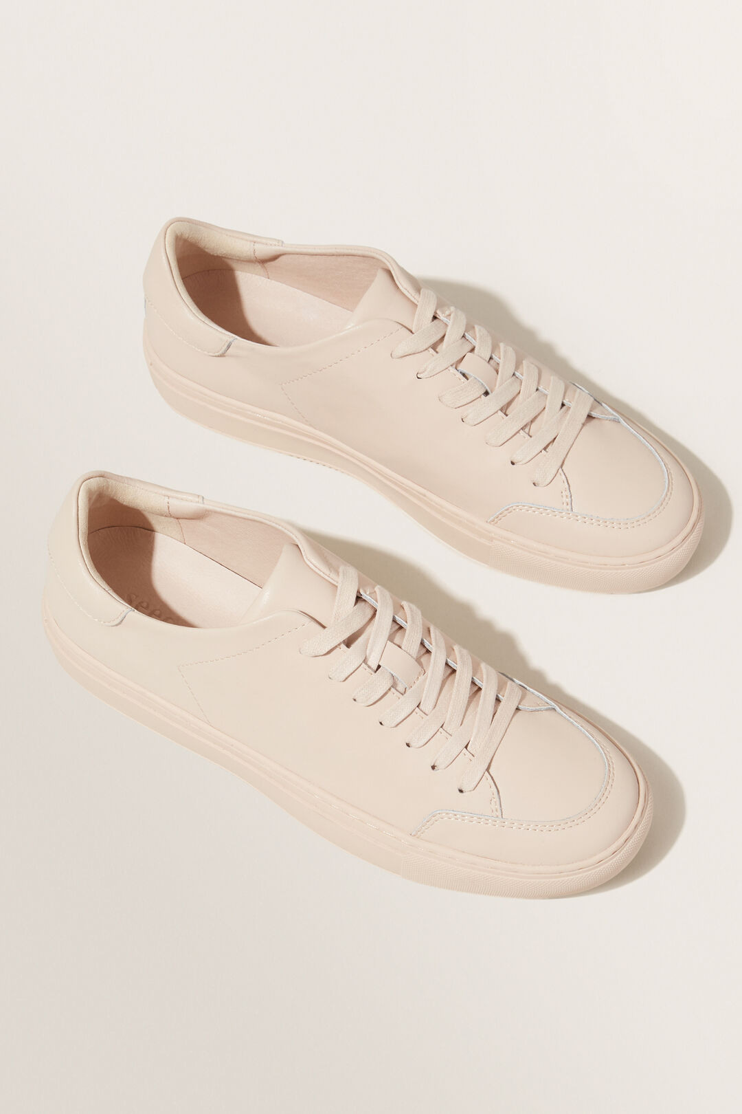 Leather Sneaker  Champagne Beige  hi-res