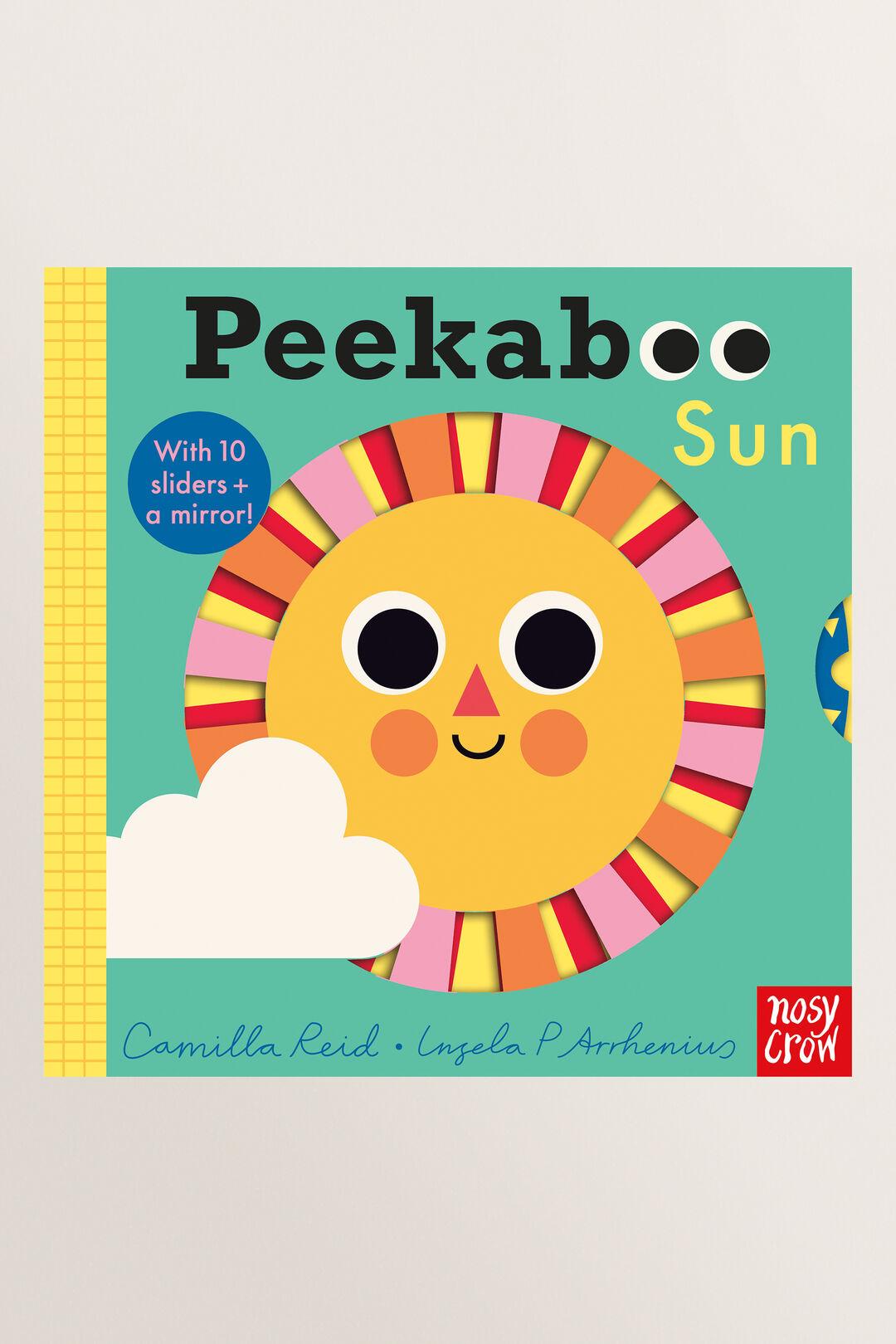 Peekaboo Sun Book  Multi  hi-res