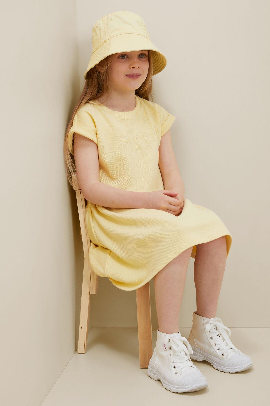 Pique Dress  Buttercup  hi-res