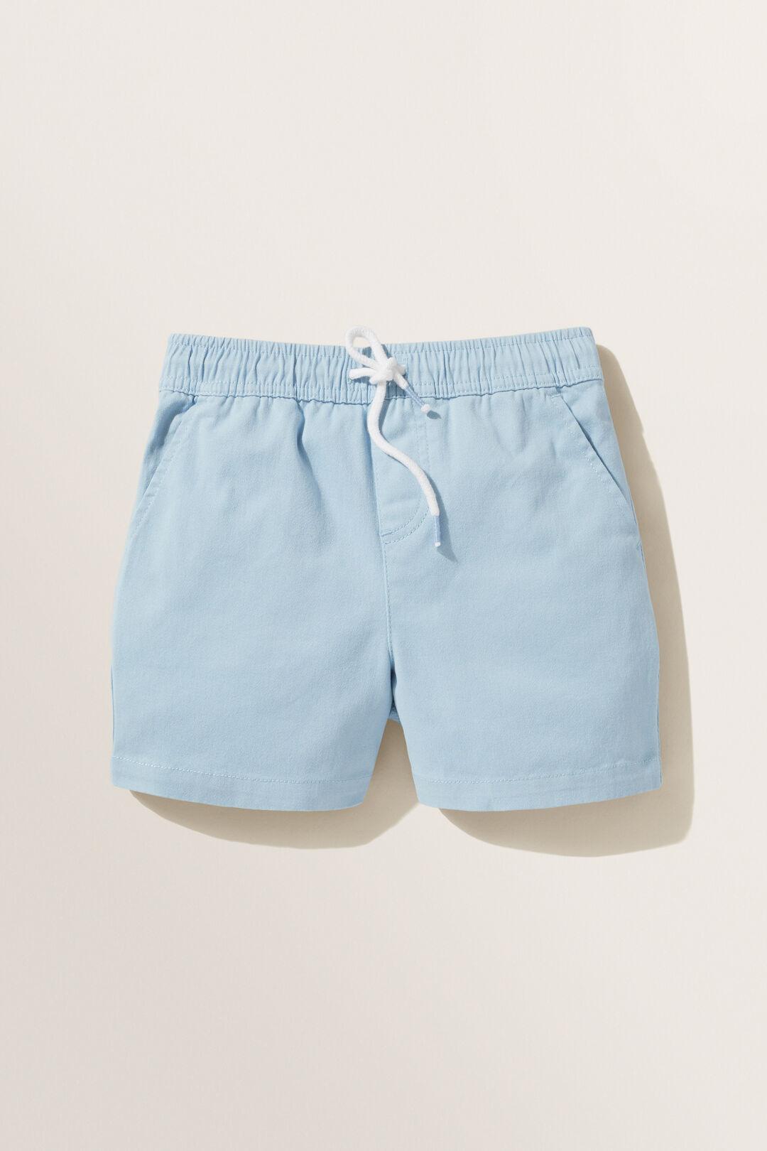 Logo Shorts  Pale Blue  hi-res