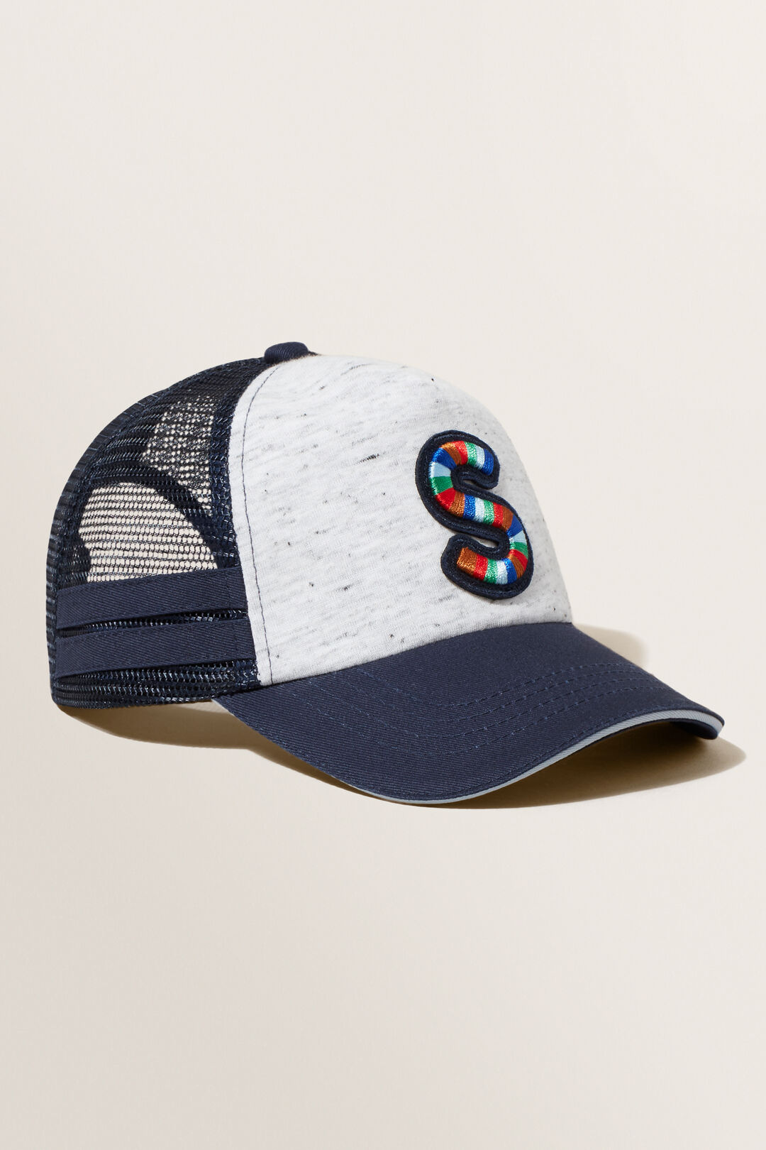 Embroidered Initial Cap  S  hi-res