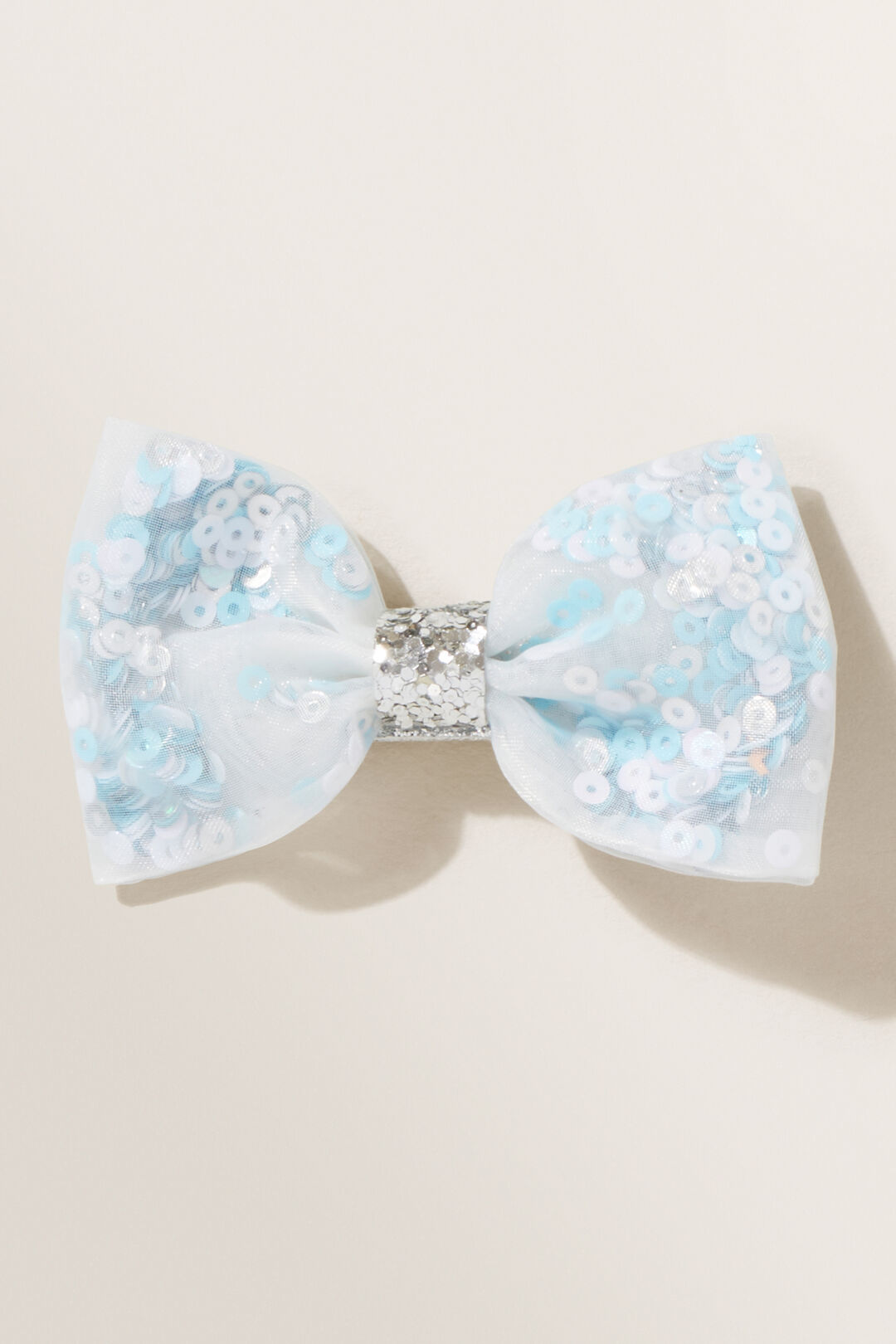 Party Sequin Bow  Multi  hi-res