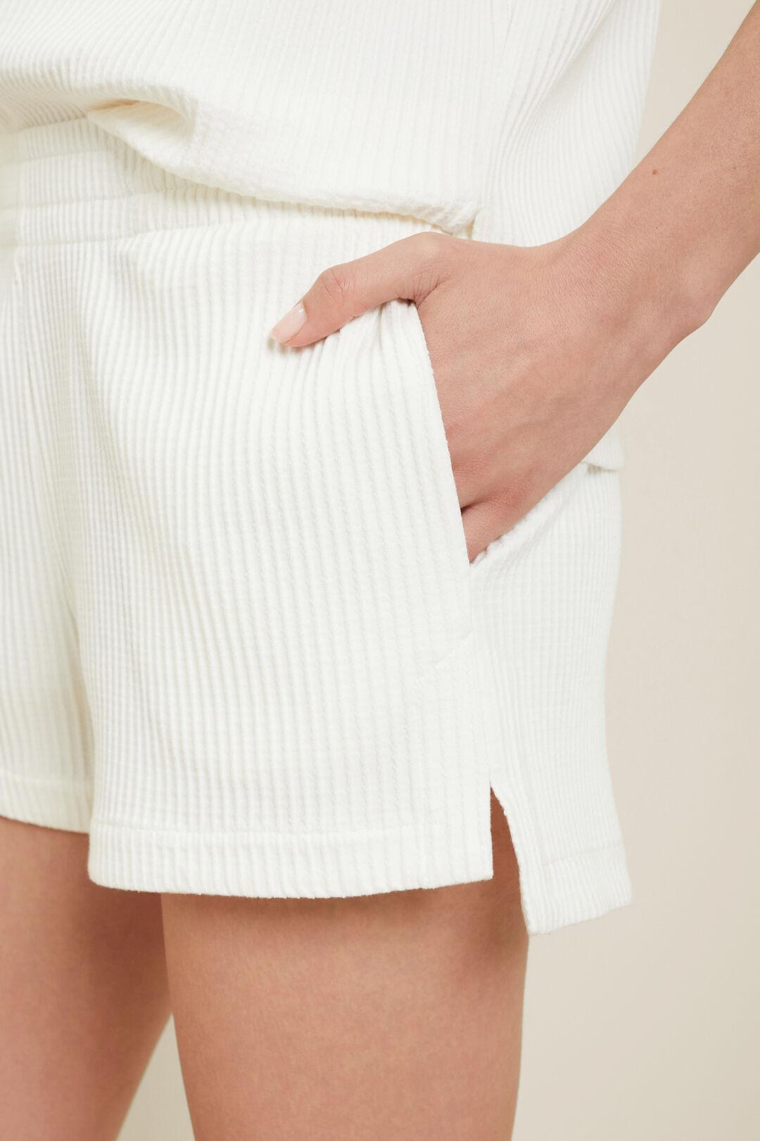 Textured Short  Cloud Cream  hi-res