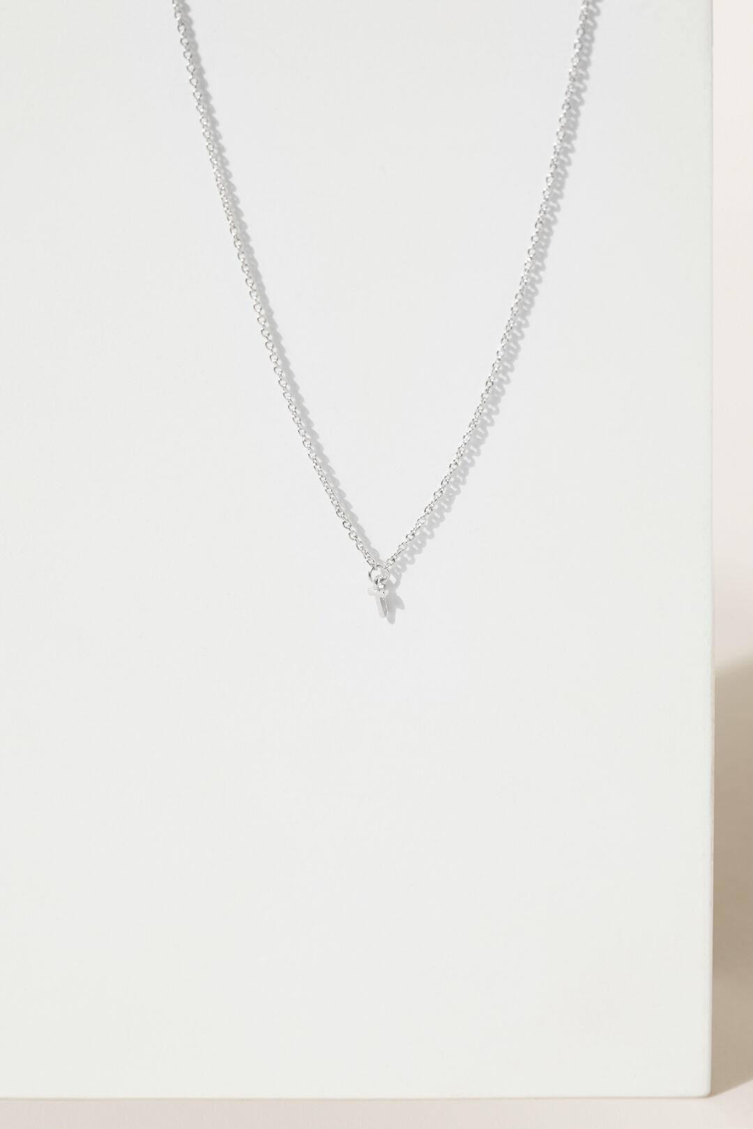 Initial Necklace  T  hi-res