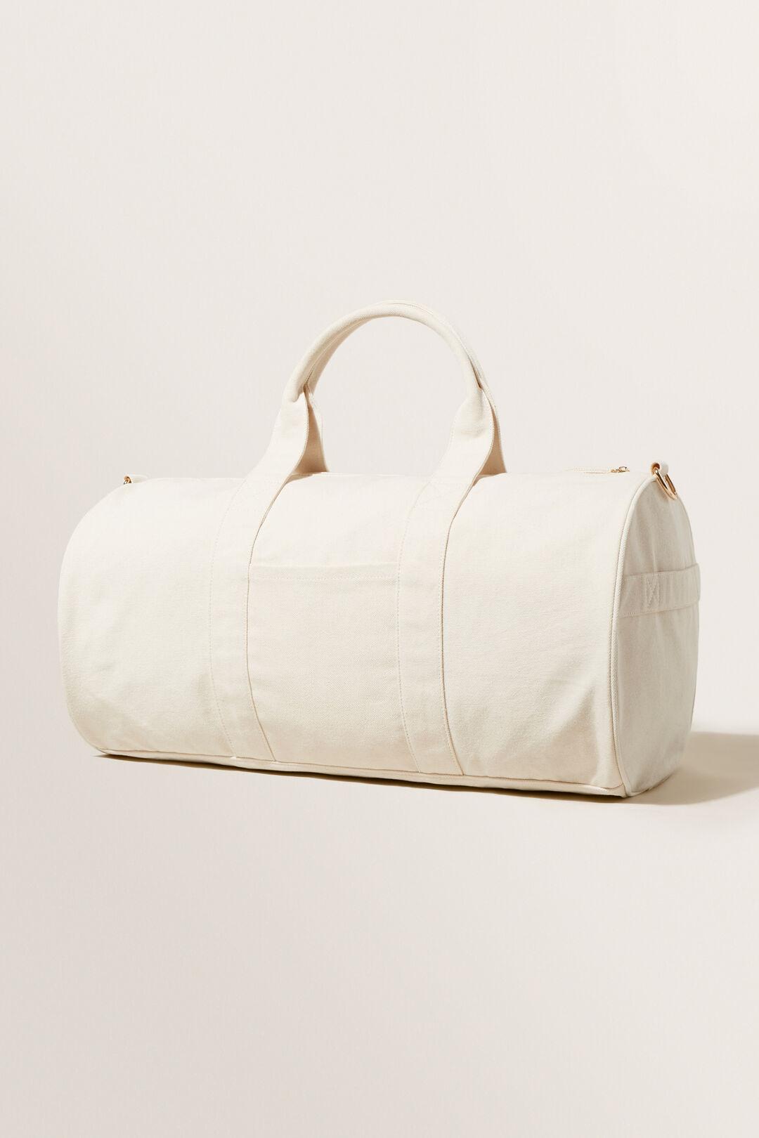 Seed Canvas Duffle Bag  Cloud Cream  hi-res
