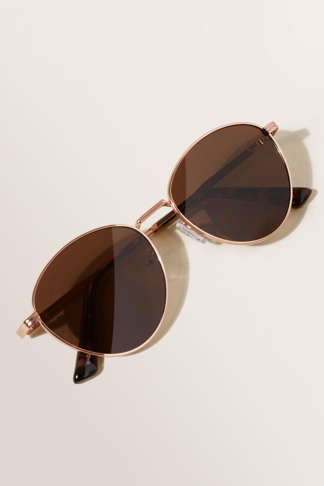 Jo Metal Sunglasses  Gold  hi-res