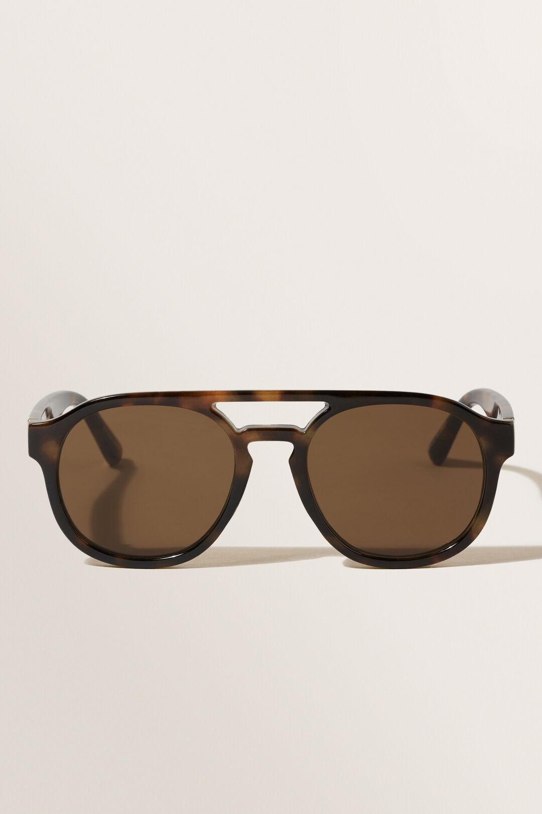Ruby Navigator Sunglasses  Dark Tort  hi-res