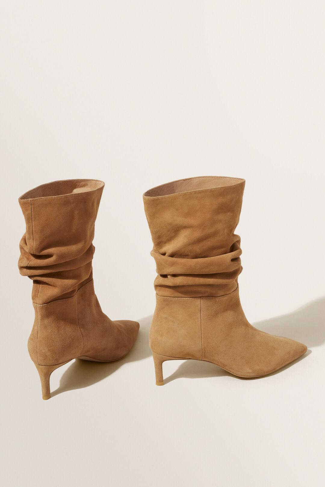 Frankie Heeled Boot  Honey Tan  hi-res