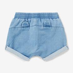 Novelty Harem Short  FADED BLUE WASH  hi-res