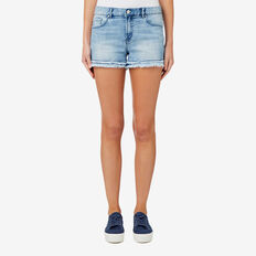 Denim Short  BLEACH BACK DENIM  hi-res
