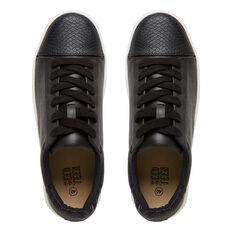 Black Platform Sneaker  BLACK  hi-res