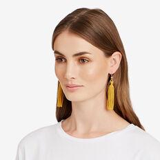 Tassel Earrings  HONEY YELLOW  hi-res