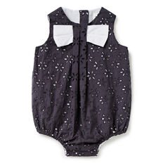 Broderie Bow Romper  CEMENT GREY  hi-res