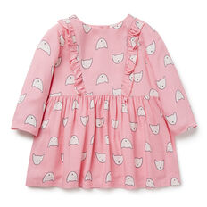 Kitty Frill Dress  CANDY PINK  hi-res