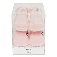 Newborn Gift Box Socks  PINK  hi-res