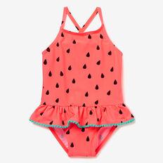 Watermelon Bather  CORAL PINK  hi-res