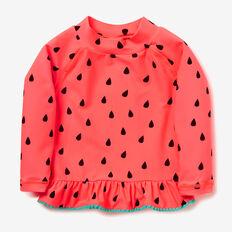 Watermelon Rashie  CORAL PINK  hi-res